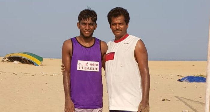 Romario and his uncle, FC Goa