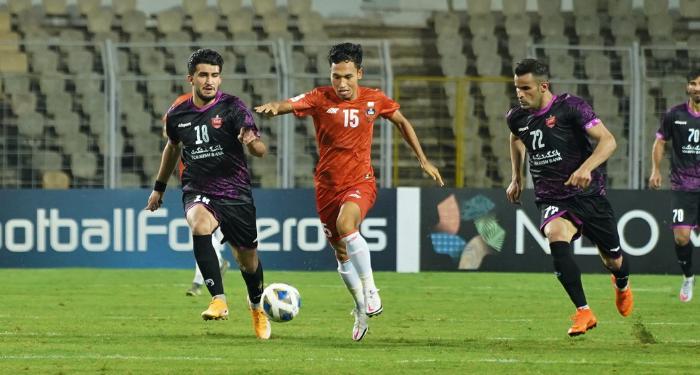 Amarjit Singh Kiyam runs, FC Goa vs Persepolis, AFC Champions League - 700x375