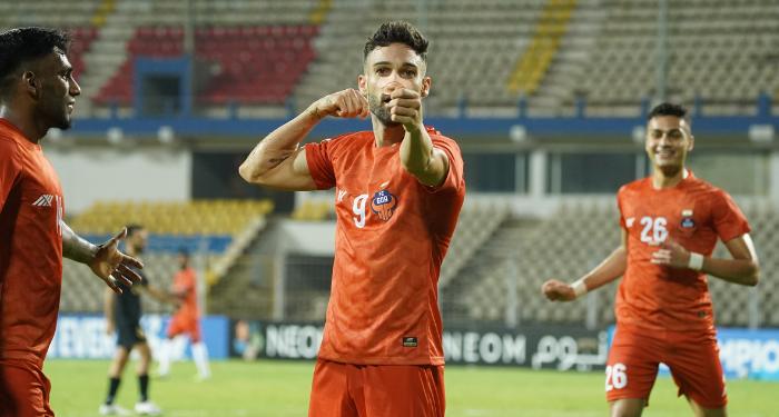Jorge Ortiz celebrates, FC Goa vs Al Rayyan, AFC Champions League - 700x375